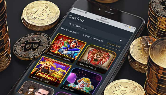 Huge selection of BTC Casino Games