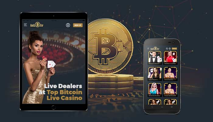 Live Dealers at Top Bitcoin Live Casino