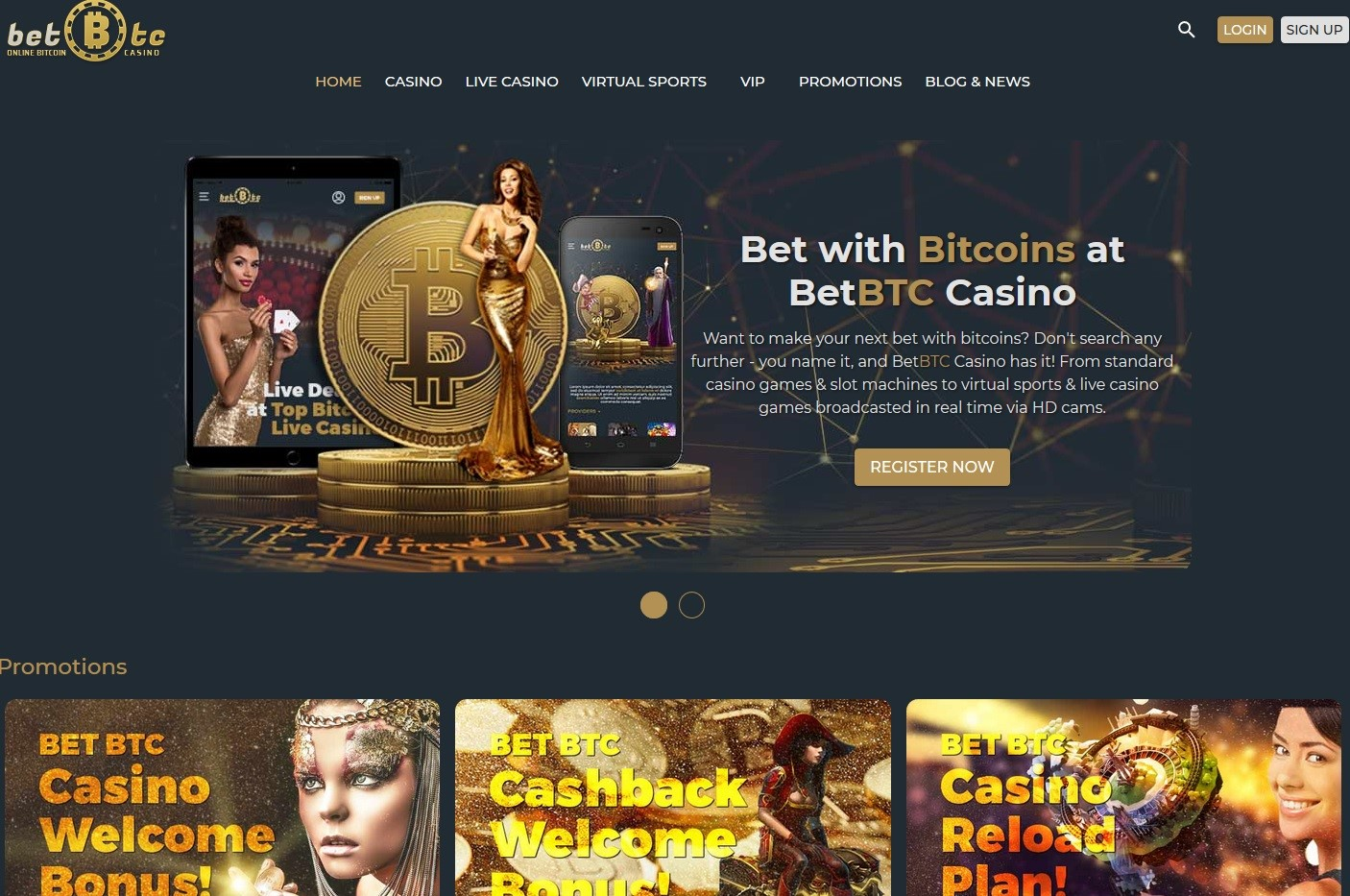 Purchase Bitcoins & Gamble Online